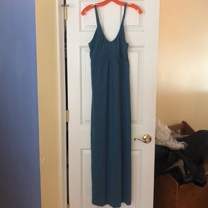 Old Navy turquoise maxi dress